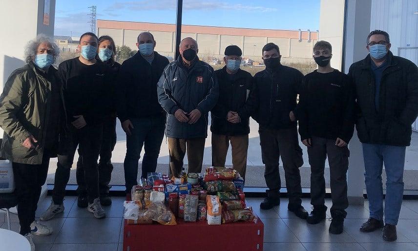 Mecanus vuelve a recolectar alimentos para caritas