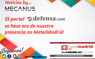 Defensa.com se hace eco de nuestra presencia en MetalMadrid